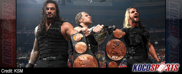 "Audio: WrestleMania XXX ""Tale of the Tape"" – (The Shield vs. Kane and The New Age Outlaws )"