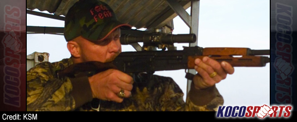 "WWE's ""Stone Cold"" Steve Austin promoting his new ""Broken Skull Ranch"" rifle scope"