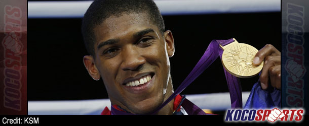 Olympic champion Anthony Joshua to face unbeaten Emanuele Leo in first professional bout