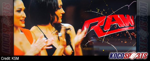 """Brie Bella apologizes for her """"wardrobe malfunction"""" on WWE Monday Night Raw"""