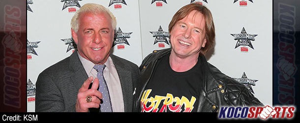 Video: Ric Flair and Roddy Piper appear on ABC's Celebrity Wife Swap