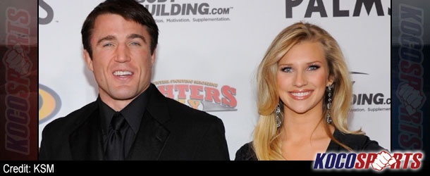 Chael Sonnen marries longtime girlfriend Brittany Smith