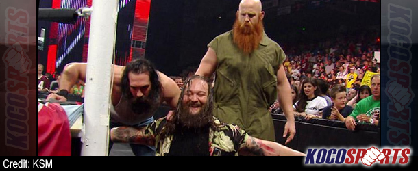 Bray Wyatt suffers injury at WWE Live Event on Saturday night