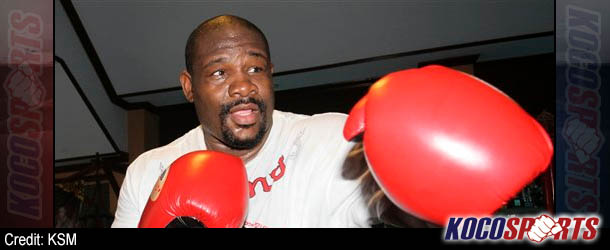 Former boxing champ, Riddick Bowe, wants to become a professional wrestler