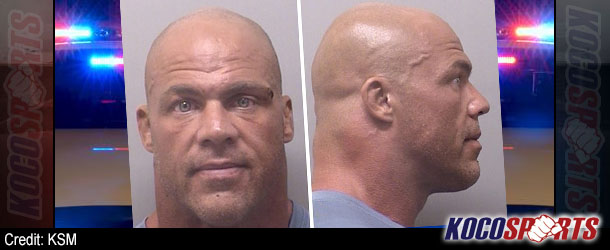 Kurt Angle arrested for DWI earlier today in Wise Country, TX