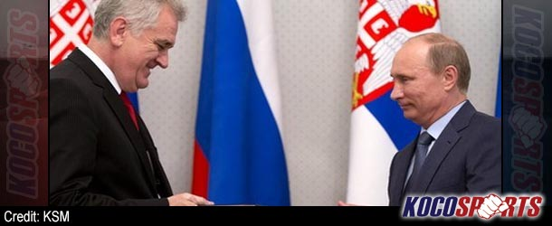 "Serbia's president, Tomislav Nikolic, made a ""judo master"" to ""help him deal with Vladimir Putin"""