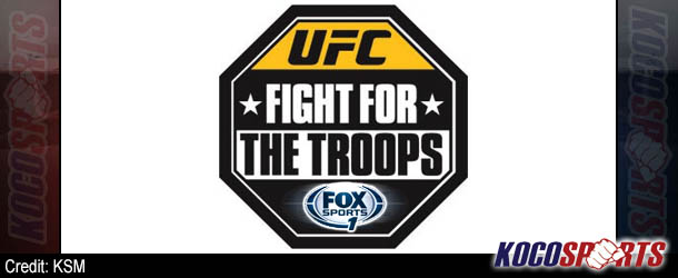 "UFC ""Fight for the Troops 3"" bouts announced; Colton Smith added to the card"