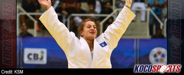 Kelmendi makes judo history for Kosovo