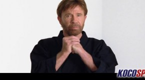 "Chuck Norris says ""as a six-time world karate champion"" Obama should listen to his advice on Syria"