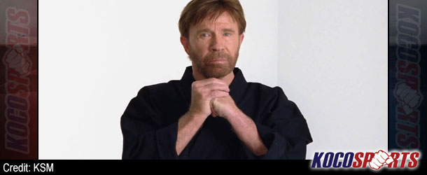 """Chuck Norris says """"as a six-time world karate champion"""" Obama should listen to his advice on Syria"""
