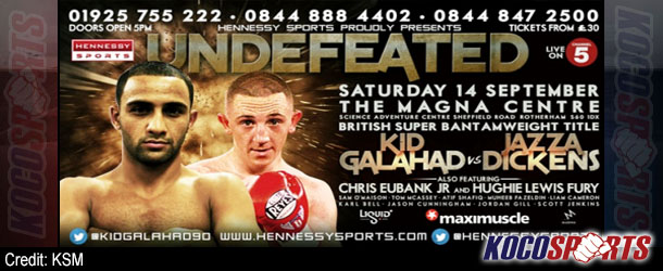 Video: Breaking coverage of Kid Galahad vs. James 'Jazza' Dickens – 09/14/13 – (Live @ 3PM EST / 8PM BST)