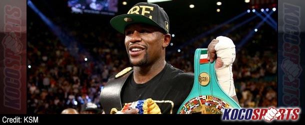 Floyd Mayweather could face Amir Khan in Britain during 2014