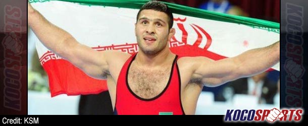Iran wins two golds on opening day of FILA World Wrestling Championships