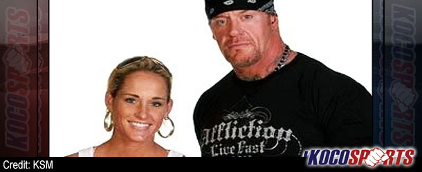 Undertaker & Michelle McCool coach developmental talents and train at WWE Performance Center