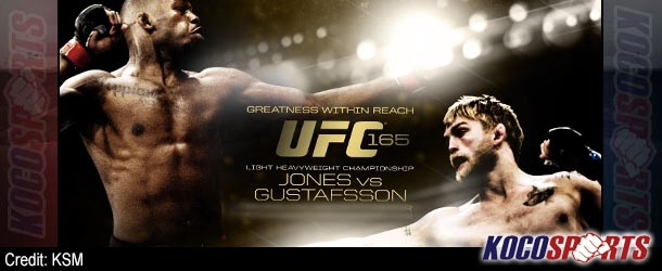 "Video: UFC 165 ""Jones vs. Gustafsson"" – 09/21/13 – (Full Show)"