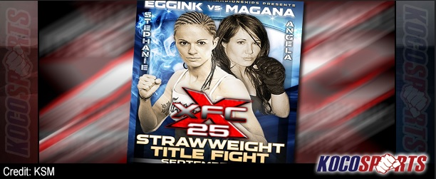 "XFC 25 ""Boiling Point"" results – 09/06/13 – (Eggink submits Magana to win inaugural strawweight title!)"