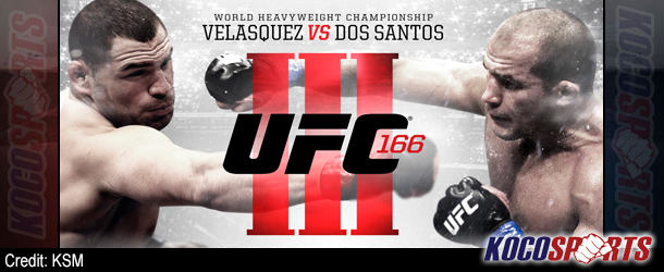 "Video: Breaking coverage of UFC 166 ""Velasquez vs. Dos Santos 3"" – 10/19/13 – (Live @ 6:15PM EST / 11:15AM BST)"