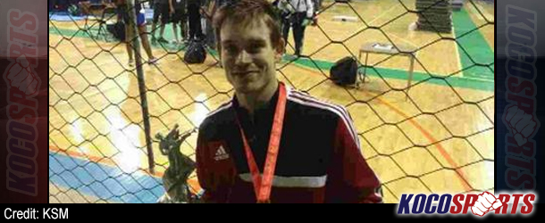 Aaron Cook takes second successive gold at the Costa Rica Taekwondo Open