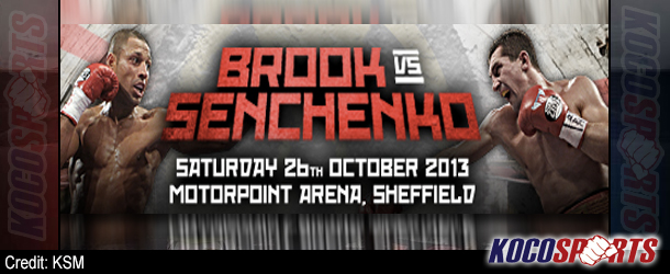 Video: Breaking coverage of Brook vs. Senchenko – 10/26/13 – (Live @ 3PM  EST / 8PM BST)