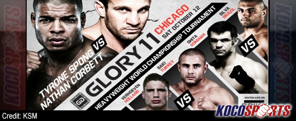 Video: Breaking coverage of GLORY 11 – Championship Kickboxing – 10/12/13 – (Live @ 9PM EST / 2AM BST)