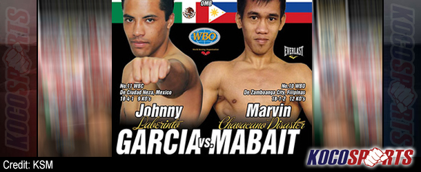 Video: Breaking coverage of Johnny Garcia vs. Marvin Mabait – 10/11/13 – (Live @ 11:30PM EST / 4:30AM BST)
