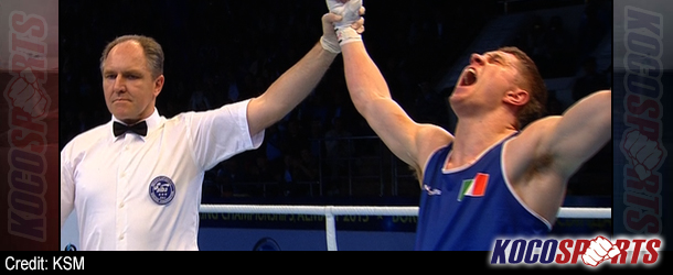 Ireland's Jason Quigley moves forward to finals of World Amateur Boxing Championships