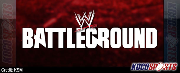 An updated look at the official lineup for Sunday's WWE Battleground pay-per-view