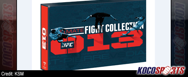 """Video: UFC release """"Ultimate Fight Collection – 2013 Edition"""";  200 epic fights on a 20-disc collectors DVD set!"""