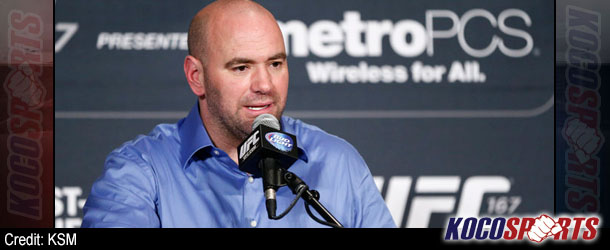 Dana White plans to give Georges St. Pierre his space