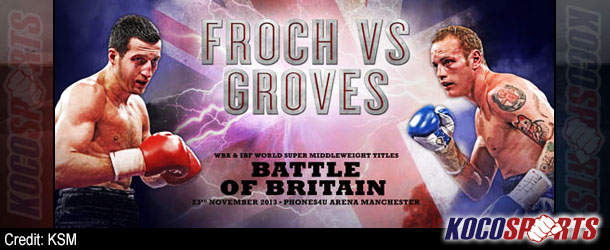 Wembley Stadium to host Carl Froch vs. George Groves showdown in May