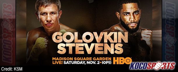 Gennady Golovkin stops Curtis Stevens in 8 rounds