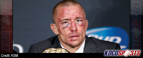 """Dana White: """"GSP is freaked out about some things, but there absolutely has to be a rematch; everything's cool!"""""""