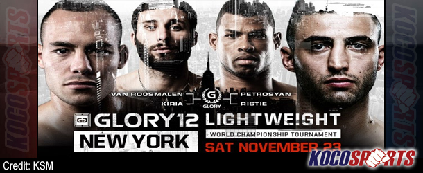 GLORY 12 results – 11/23/13 – (Andy Ristie gets a KO victory over Robin Van Roosmalen!)