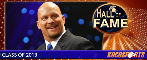 Stone Cold Steve Austin inducted into the Kocosports.com Combat Sports Hall of Fame