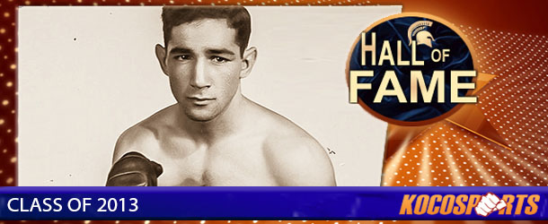 Willie Pep inducted into the Kocosports.com Combat Sports Hall of Fame