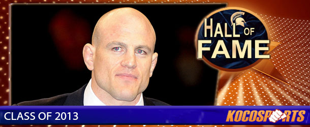 Cael Sanderson inducted into the Kocosports.com Combat Sports Hall of Fame