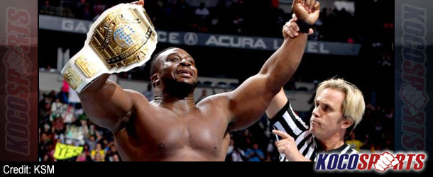 Big E Langston beats Curtis Axel to become the new WWE Intercontinental Champion!