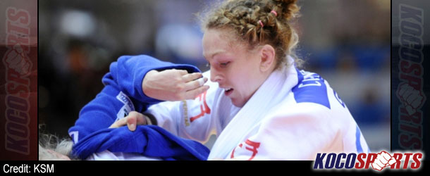 Scotland's Sally Conway claims gold at European Judo Cup