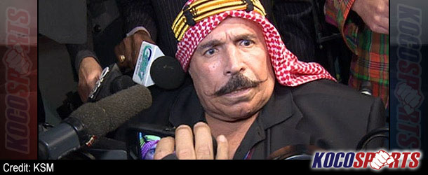 71 year old WWE legend, The Iron Sheik, challenges Toronto Mayor, Rob Ford