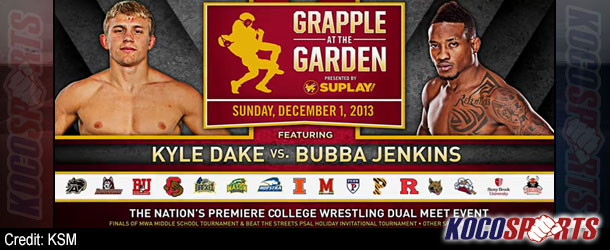 """Amateur Wrestling & MMA stars thrill fans at MSG with """"Grapple at the Garden"""" event"""