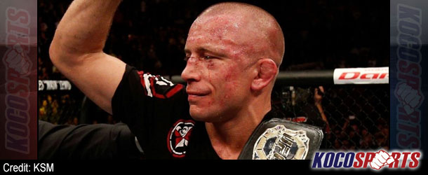Georges St-Pierre, the surest bet in the UFC, to take time off