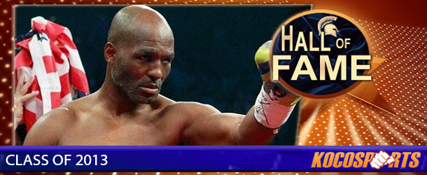 Bernard Hopkins inducted into the Kocosports.com Combat Sports Hall of Fame