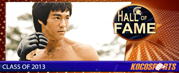 Bruce Lee inducted into the Kocosports.com Combat Sports Hall of Fame