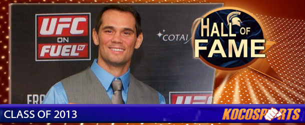 Rich Franklin inducted into the Kocosports.com Combat Sports Hall of Fame