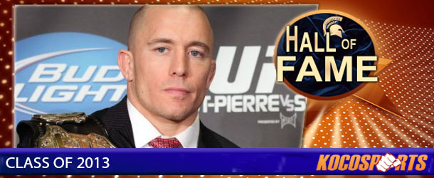 Georges St-Pierre inducted into the Kocosports.com Combat Sports Hall of Fame
