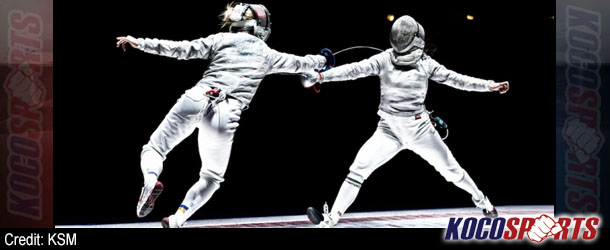 Olga Kharlan led Ukranian fencing team to Olympic Gold when she was 17; now at 23 she wants to repeat her accomplishment in Rio