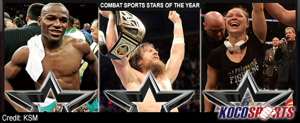 "Column: Koco's Corner #126 – (The Three Combat Sports ""Stars of the Year"" of 2013)"