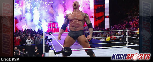 WWE Royal Rumble results – 01/26/14 – (Batista wins Rumble match; Orton retains title; Outlaws win tag titles!)