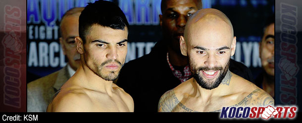 Collazo stops Ortiz in 2nd round of welterweight showdown