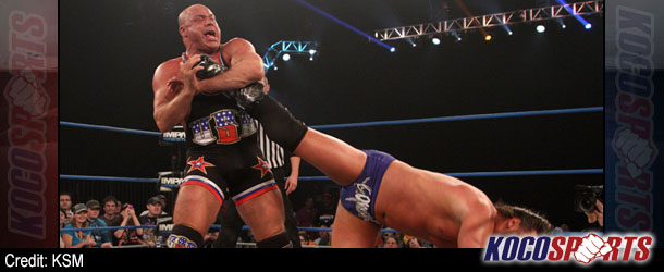 Kurt Angle discusses his personal issues and his future in professional wrestling